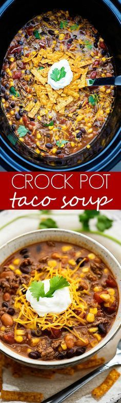 This taco soup could not be any easier to make AND it tastes so delicious!