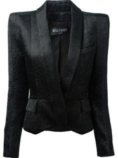 BALMAIN - structured blazer 6