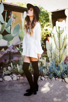 La Chica Bien: Calcetas arriba de la rodilla