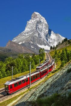 Matterhorn, Switzerland | Europe's most beautiful places for nature