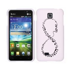 FINCIBO (TM) Protector Cover Case Snap On Hard Plastic For LG Escape P870 Saleen 870 - Love Music Infinity Fincibo http://www.amazon.com/dp/B00CC58D1O/ref=cm_sw_r_pi_dp_xy3Nub0BHS2YJ