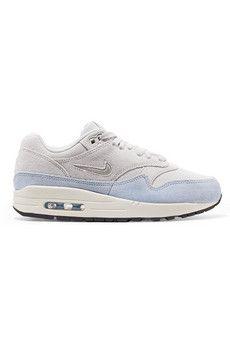 44007e43814 Nike - Air Max 1 Premium SC two-tone suede sneakers