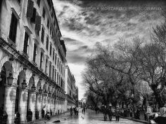 Posters Of Corfu - fionamphotography Corfu Greece, Greece Islands, Small Island, Black And White Photography, Monochrome, Greek, Visit Greece, Places, Winter