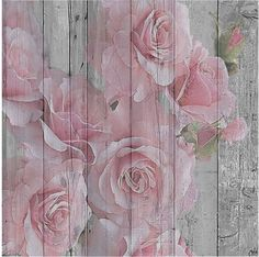 pink roses on wood paneling. Vintage Roses, Vintage Paper, Deco Floral, Decoupage Paper, Rose Cottage, Tole Painting, Paper Background, Shabby Chic Background, Text Background