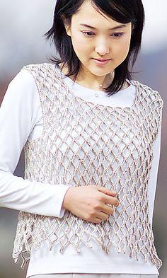 Ravelry: 211s-40 Pastel Color Nap Vest pattern by Pierrot (Gosyo Co., Ltd)