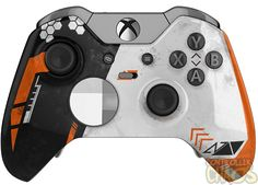 Elevate Your Game with an exclusive Xbox One Elite: Asiimov exclusive CS-GO inspired design. Video Games Xbox, Xbox Games, Nintendo Switch, Playstation, Youtubers, Consoles, Videogames, Home Bar Accessories, Xbox Console