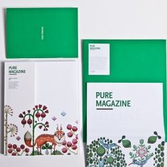 Beautiful concept magazine for Finlandia Vodka.