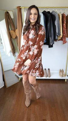 Cute Outfits With Jeans, Casual Dress Outfits, Casual Winter Outfits, Winter Fashion Outfits, Mode Outfits, Stylish Outfits, Autumn Fashion, Look Casual Otoño, Fall Dresses