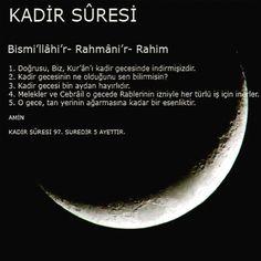 Kadir Gecesi Earth News, Beautiful Prayers, Allah, Hadith, Quotes, Google, Instagram, Stitches, Quotations