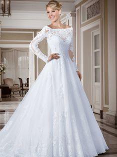 Vestidos de noiva - Coleção Callas (17) Frente