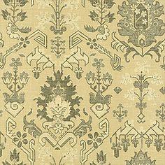Thibaut Tamarind - Kilim - Wallpaper - Beige