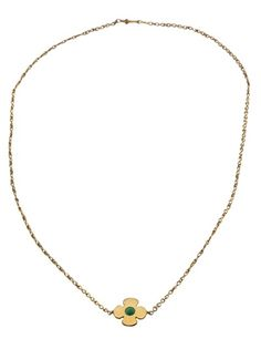 MARIE HELENE DE TAILLAC - Small clover necklace 1