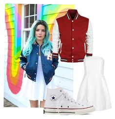 """""""Halsey Inspired Outfit"""" by appreciated-by-music on Polyvore featuring Alice + Olivia and Converse"""
