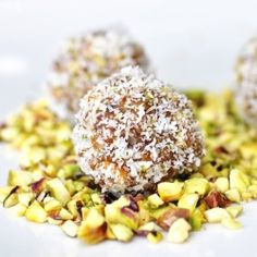 #98235 - Coconut Pistachio Truffles By TasteSpotting
