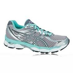 c71d86ff135 Asics Gel-Cumulus 14 Women s Running Shoes Gray Green White