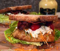 Lizasmatverden-Livet med tre store og en liten: Burger midt i uken? Hva med en torske sandwich