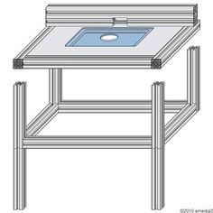 diy bauanleitung f r einen modularen fr stisch f r oberfr sen fr stisch pinterest. Black Bedroom Furniture Sets. Home Design Ideas