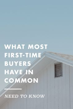 You're not alone. Find out how other first-timers tussle and cope with the home buying process.