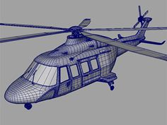 Aw139 Helicopter Aircraft 3d Model Aw139 More Accurate By