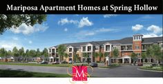 A 55 plus community Mariposa Apartment Homes at Spring Hollow in Saginaw, TX offers affordable senior apartment living for active adults Senior Apartments, Senior Living, Fort Worth, Texas, Community, Homes, Mansions, House Styles, Spring