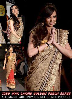 #MalaikaAroraKhan Designer Lehenga #Saree