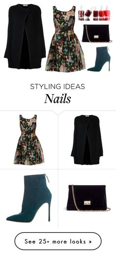 """Untitled #400"" by ema-jones on Polyvore featuring Valentino, Dolce&Gabbana, Gianvito Rossi, Rodo and Essie"