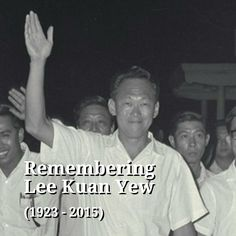Singapore Founding Prime Minister, Mr Lee Kuan Yew