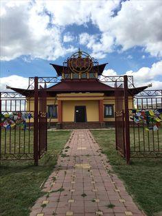 Beautiful Buddhist temple in Kalmykia, Russia  Красивый Буддистский храм в Калмыкии