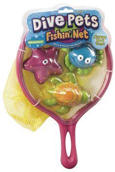 Dive Pet Fishing Net Pool Toy