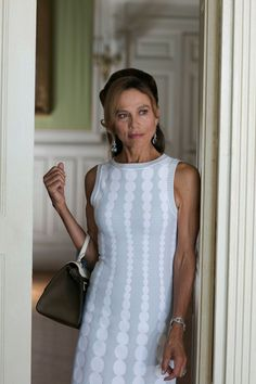 Constantine's ex-wife Irina is up there when it comes to the most chic characters on the show. Consistently looking expensive, Irina knows how to rock sophisticated one-pieces, skirts and day dresses.
