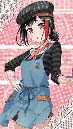 Bon' jour, Ran Mitake. Kawaii Anime Girl, Anime Art Girl, Lolis Neko, Yandere Girl, Anime Furry, Anime Music, Cute Anime Pics, Beautiful Anime Girl, Girl Bands