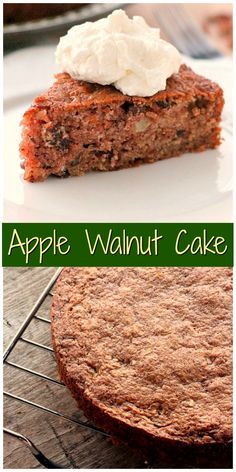 ... on Pinterest | Pumpkin coffee cakes, Walnut cake and Apple cakes