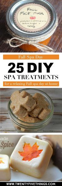 I can't believe how easy it is to make your own spa treatments at home. All of these DIY spa treatments are perfect for relaxing this Fall and having a spa day at home!
