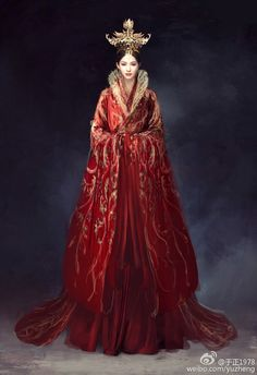 Traditional Fashion, Traditional Dresses, The Empress Of China, Fairytale Dress, Chinese Clothing, Oriental Fashion, Chinese Culture, Hanfu, Chinese Style