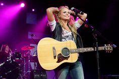 Underneath it all, she's just a girl with a guitar who sings about her feelings. | 21 Reasons Miranda Lambert Is A Seriously Badass Role Model
