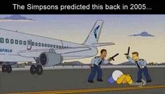 Funny Pictures | The Simpsons | United Airlines