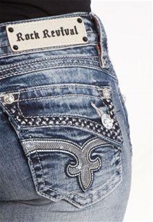 Rock Revival Jeans Johanna Skinny for Women RJ8250S57
