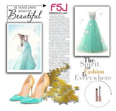 """""""fsjshoes 6"""" by dzenyy ❤ liked on Polyvore featuring WALL and fsjshoes"""