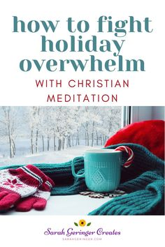 Find peace and encouragement through Christian meditation for the holiday season. #christmaspeace #holidays #christianmeditation #choosepeace Overwhelmed By Life, Feeling Overwhelmed, Women Of Faith, Faith In God, Who Created You, Hope In Jesus, Christian Meditation, Celebrating Christmas, Meditation For Beginners
