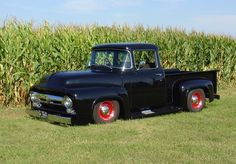 1956 Ford Truck, 1956 Ford F100, Old Ford Trucks, Pickup Trucks, Custom Trucks, Custom Cars, Classic Trucks, Classic Cars, Ford Bronco