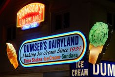 August pic by Louis Parsons. Ocean City Md, Maryland, Ice Cream, Neon Signs, Places, No Churn Ice Cream, Gelato, Ice Cream Desserts, Lugares