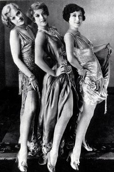 Anita Page, Joan Crawford, and Dorothy Sebastian - 1928 - Our Dancing Daughters - Directed by Harry Beaumont - @~ Mlle