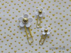 Marc Jacobs Daisy Inspired Gold Planner Paper by PeoniesPaperie