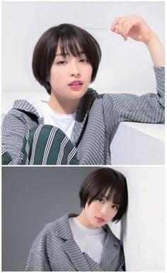 Girl Short Hair, Short Hair Cuts, Wavy Hair, Ombre Hair, Estilo Tomboy, Korean Short Hair, Shot Hair Styles, Queen Hair, Pixie Hairstyles