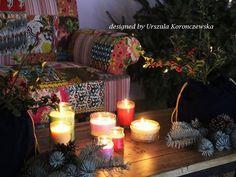 A Christmas time at Indian showroom in Warsaw. Designed by Urszula Koronczewska.