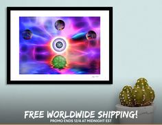 Discover «Satori», Limited Edition Fine Art Print by Glink - From $29 - Curioos