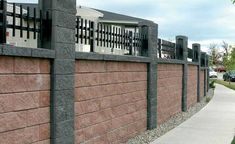 Concrete Fence Product - AB Fence