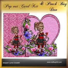Popout Card & Pinch Bag Duo - Cutie Pie