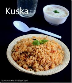 Tamilnadu style kuska biryani/plain biryani recipe without vegetables