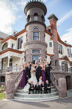 Newhall Mansion Wedding: Stephen and Kristina #BeccaRillo
